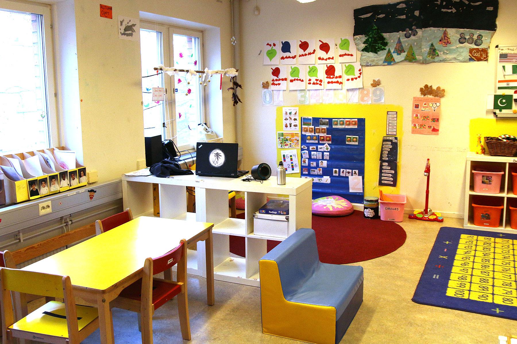 Välkommen till förskolan i Kista